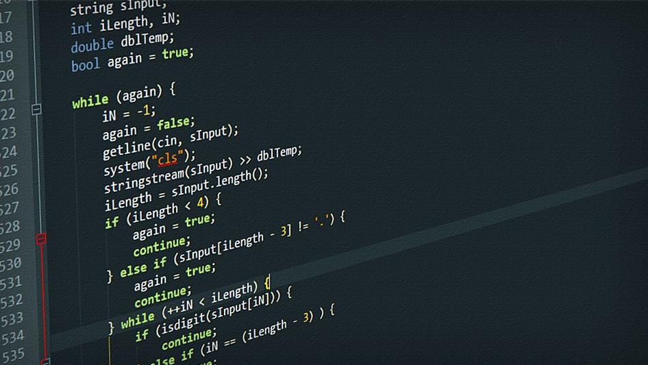 Software Development - Source Code in Visual Studio
